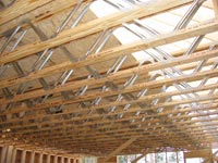 Rafters by John Gallagher Construction, General Contractor, custom home builder in North Carolina